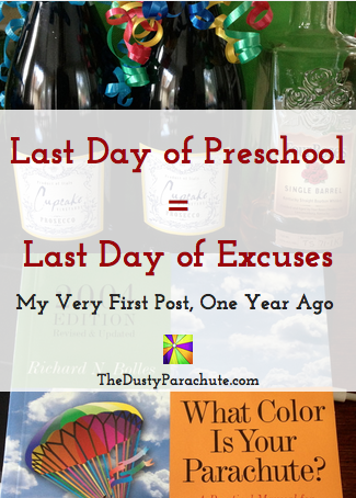 Last Day of Preschool - Last Day of Excuses - TheDustyParachute.com