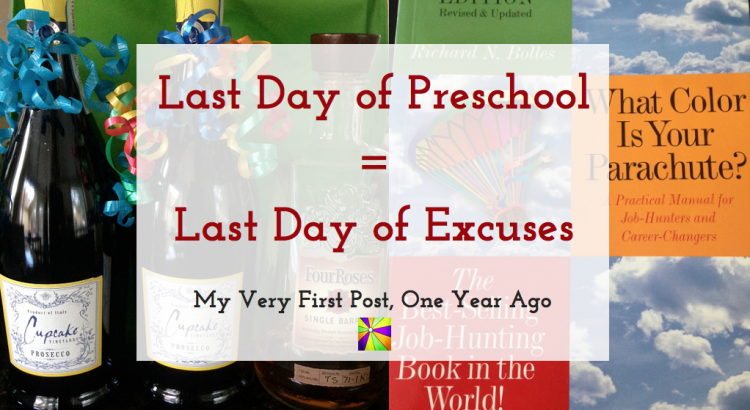 Last Day of Preschool = Last Day of Excuses - TheDustyParachute.com