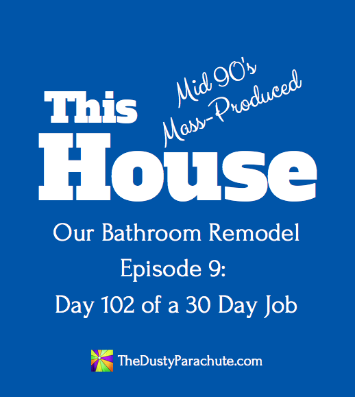 Our Bathroom Remodel - Episode 9 - Day 102 of a 30 Day Job