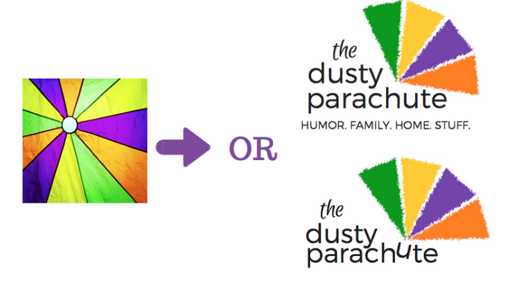 The Dusty Parachute - New Logo