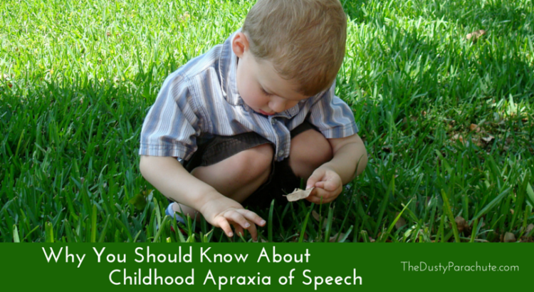 Childhood Apraxia of Speech The Dusty Parachute