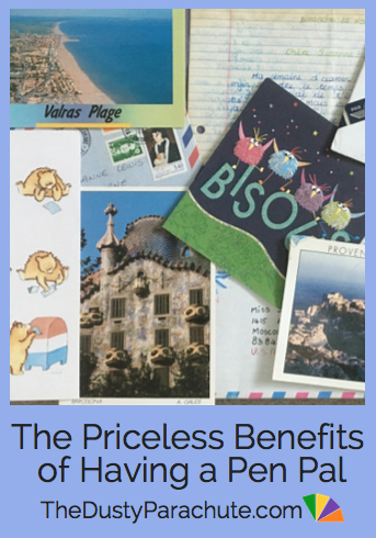 The Priceless Benefits of Having a Pen Pal - The Dusty Parachute by