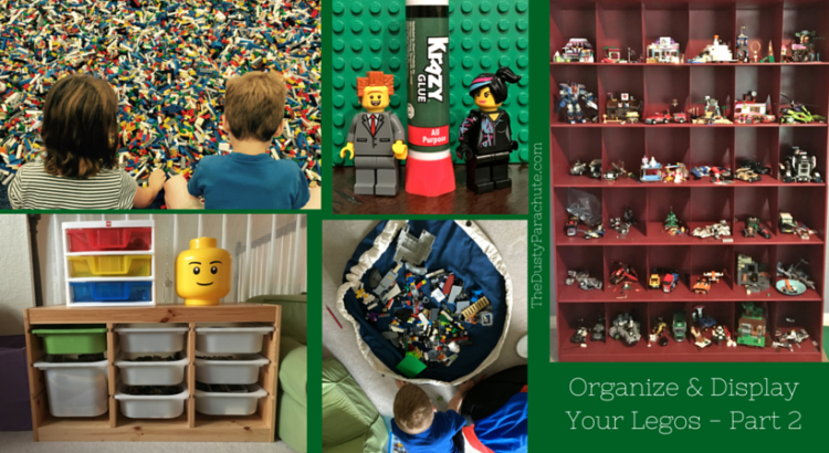 Organize and Display Your Legos - TheDustyParachute.com