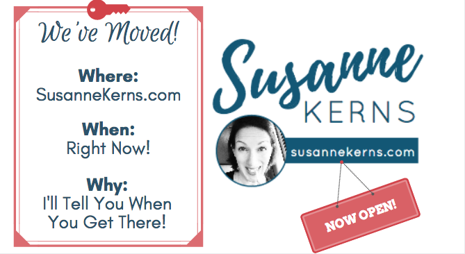 Come Check Out My New Place - SusanneKerns.com